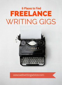where to find freelance writing gigs